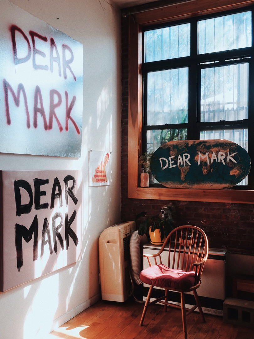 Relixx - Jen Grygiel Dear Mark trash tag