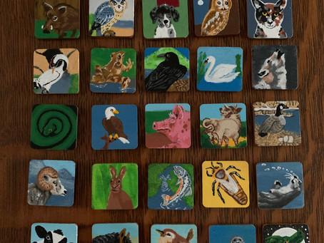 Druid Animal Oracle Set