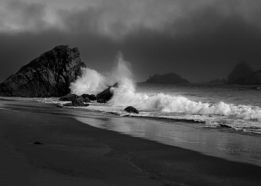 Crashing Waves - Oregon Coast