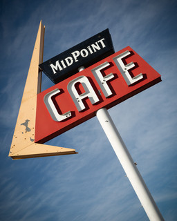 MidPoint Cafe Sign