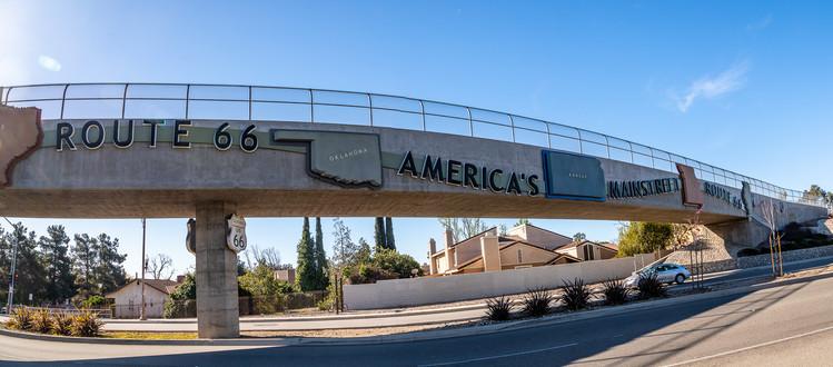 Bridge over Route 66