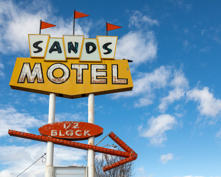 Sands Motel Sign