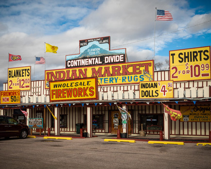 Continental Divide Indian Market