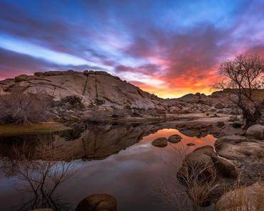 Barker Dam Sunrise