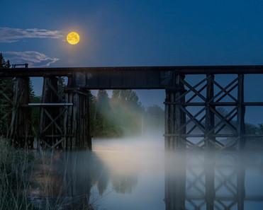 Moon Over Trestle