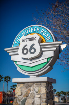 Historic Route 66 Sign