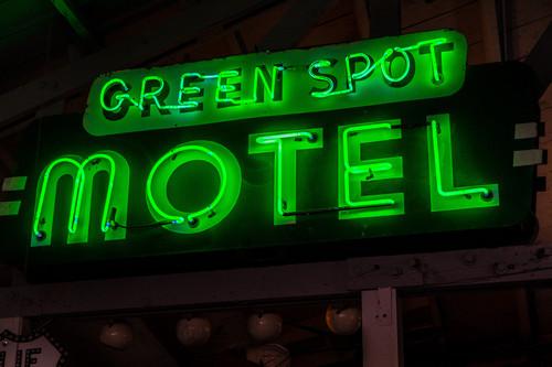 Green Spot Motel sign