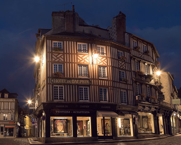 Night Scene in Honfleur