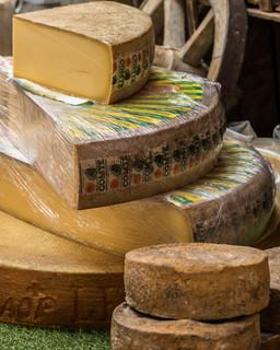 Cheeses at the Apt Market