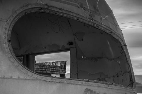 Airstream Trailer view