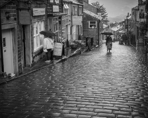 Rainy Day in Haworth