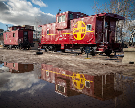 Caboose Reflections