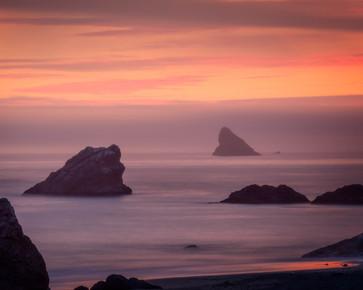 Sunset - Harris Beach SP
