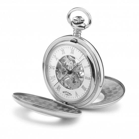 Rotary MP00712/01Mechanical Pocket Watch