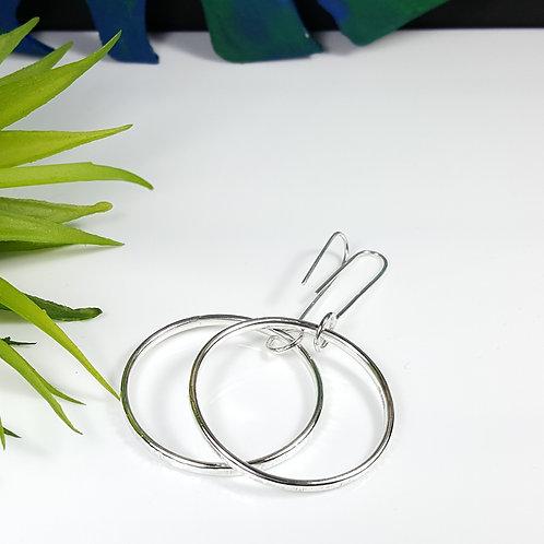 Skinny Hoop Earrings