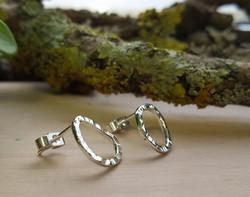 Pebble Stud Earrings