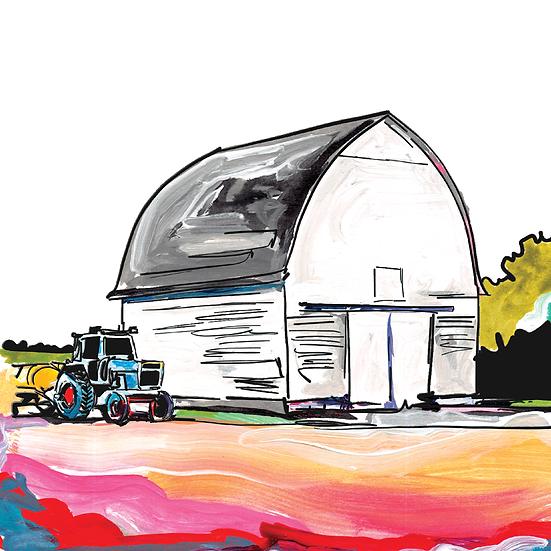 Custom Farm w/Barn