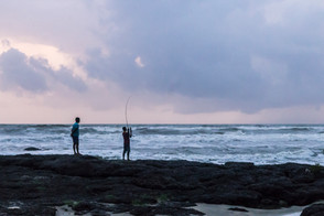 Fisherboys in Goa, India
