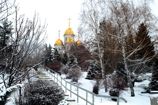 The church where my father maybe got baptized, Volgograd, Russia