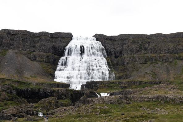 Water falls, Westfjords, Iceland