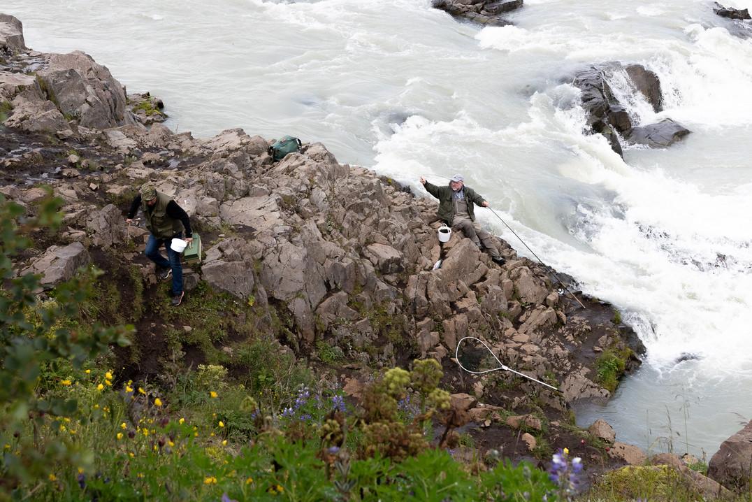 Fishermen, Iceland