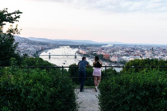 Yesterday's couple, Budapest