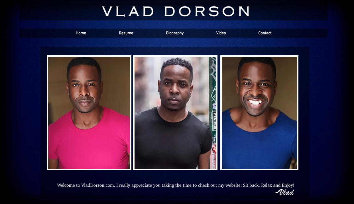 Actor Vlad Dorson