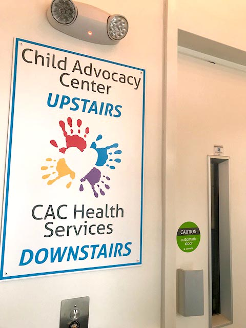 New Elevator Hookup-Completed Child Advocacy Center in Laconia