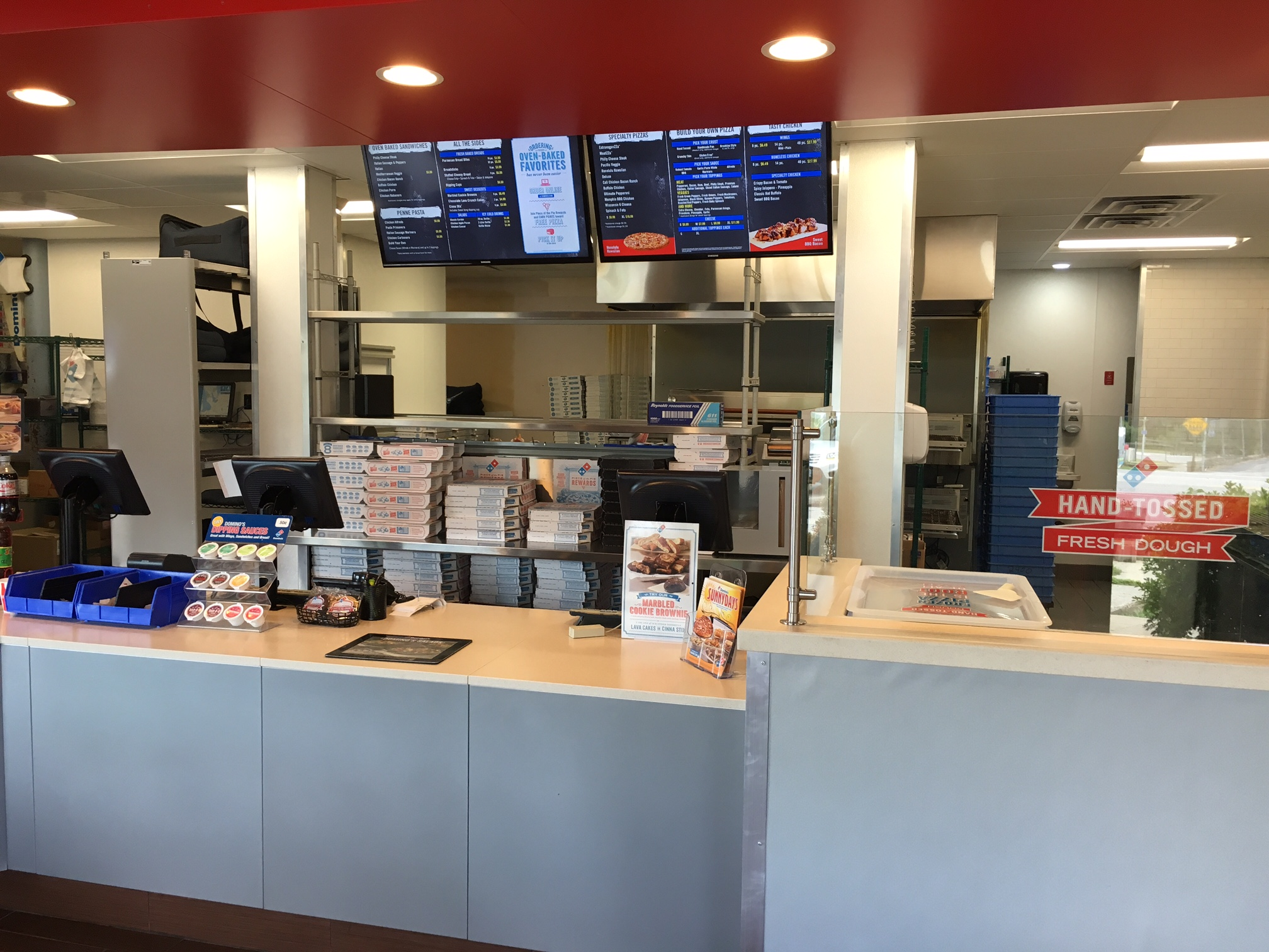 Dominos Pizza Remodel