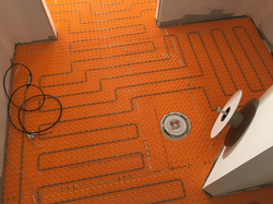 Heated Floor Wiring