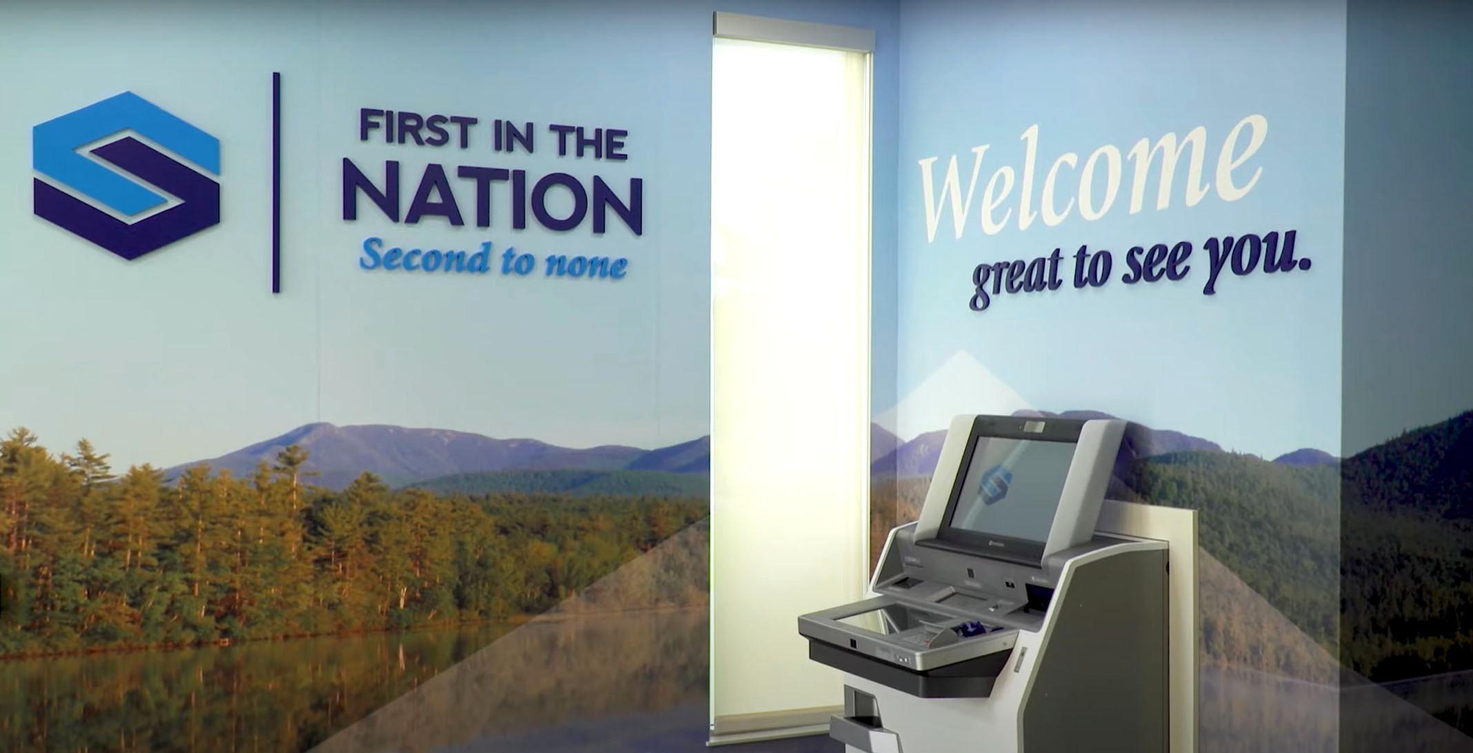 St. Mary's Bank ITM Machine
