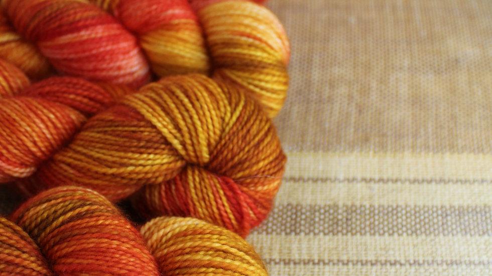 Phoenix Rising Superwash Merino Sock Weight Yarn