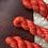 Thumbnail: Lobster Mushroom Sock Superwash Merino Yarn
