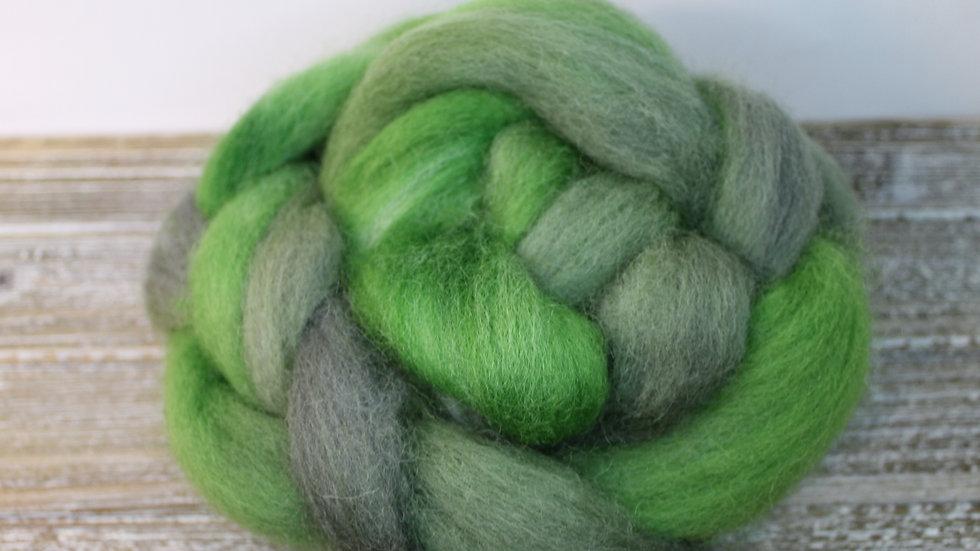 Mossy Rock Norwegian Wool Roving