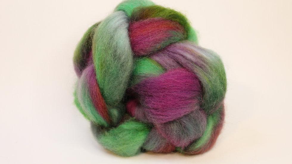 Rose Garden Norwegian Wool Top Roving