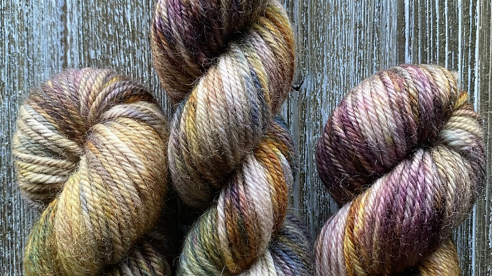 Stained Dyed Merino Collection