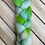 Thumbnail: Electric Moss Clouds Merino Roving