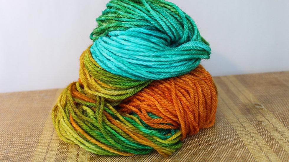 Island Sunset Superwash Wool Bulky Yarn