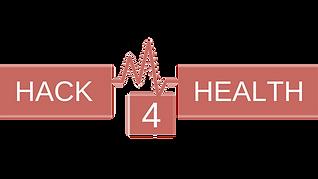 Hack4Health logo - bordeau_transparent b