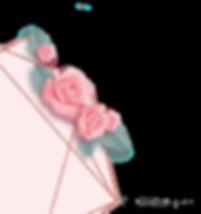 —Pngtree—rose_gold_geometric_rose_border