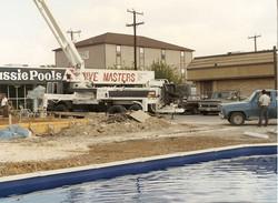 Grissom Under Construction, c. 1990