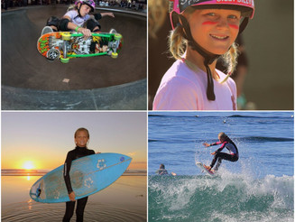 "Bryce, 11 years and a Total Ripper!  ""Why I love Skateboarding & Surfing"""