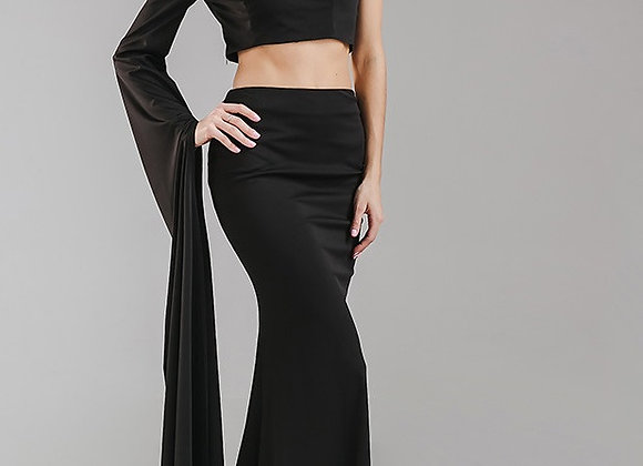 Black 2 Piece Gown