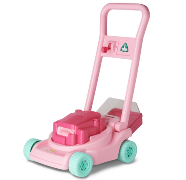 'The Pink Lawnmower Related to 'Monoliths' Theory.