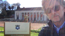 """Paul Speaks on Crop Circles at Marlborough College""."