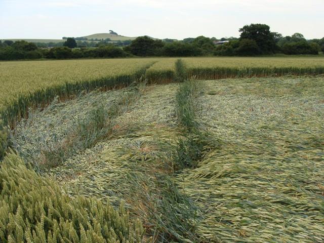 'Energy Leak' in Crop Circles