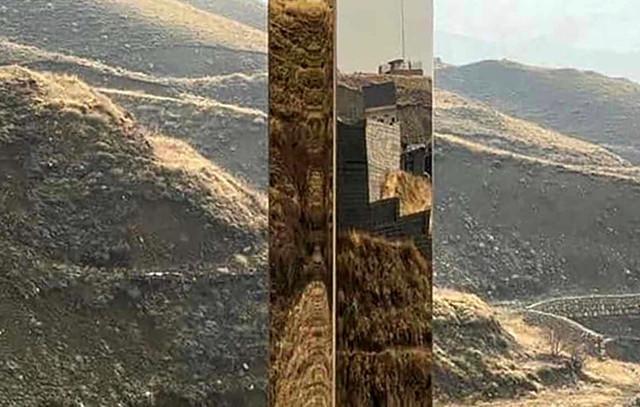 Iran 'Monolith' appears in mountainous region NE of Tehran.