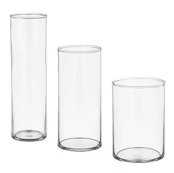 Cylinder Vase (Set of 3)