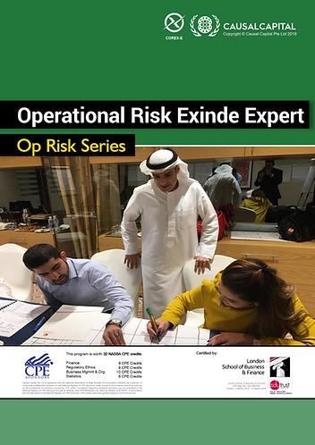Certified Operational Risk Expert (Exinde Level), 2020