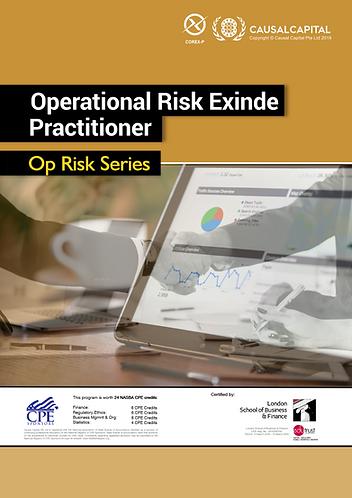Certified Operational Risk Practitioner (Exinde Level), 2020